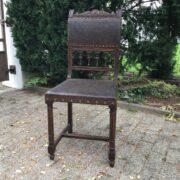 Antiker Stuhl, Einzelstück (Antiquität, Gründerzeit)