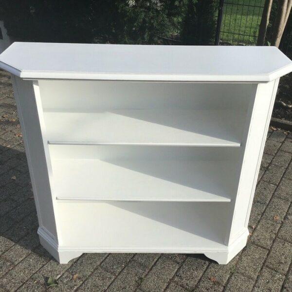 Bücherregal, Sideboard, Holzschrank (Shabby-chic, Landhausstil)