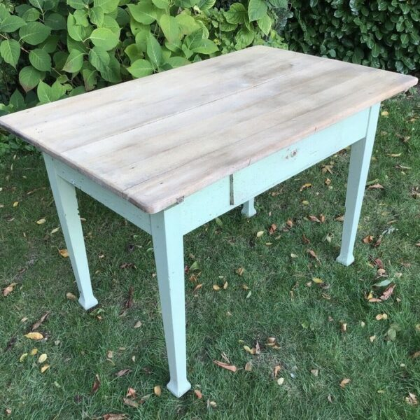 Alter Küchentisch, Tisch, Holztisch (Vintage, Shabby)