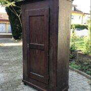 Antiker Holzschrank, Schrank, Scheunenfund (Antiquität)