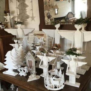 Weihnachtsdekoration, Shabby, Landhaus, Engel, Möbel, Trödel, Vintage